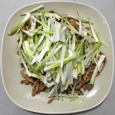 75. Beijing Style Shredded Pork With Scallions
