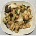 62. Seafood Treasure With Mandarin Sauce