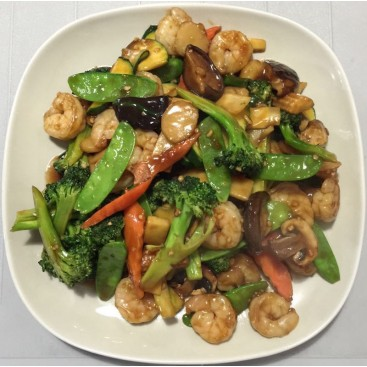 56. Mixed Vegetables With Shrimp