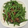 35. String Bean With Beef