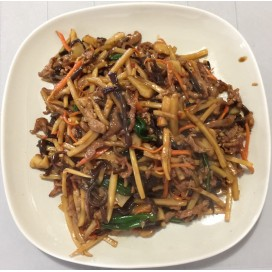 76. Shredded Pork With Hot Garlic Sauce