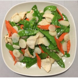 24. Chicken With Snow Peas