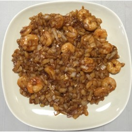 56. Shrimp With Mandarin Sauce