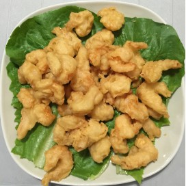 51. Fried Shrimps