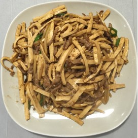 77. Shredded Pork With Dry Bean Curd