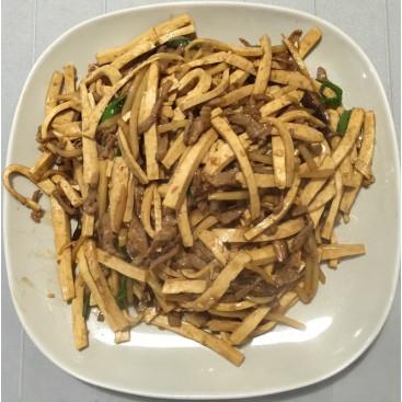 69. Shredded Pork With Dry Bean Curd