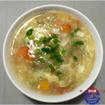 11. Egg Flower Soup