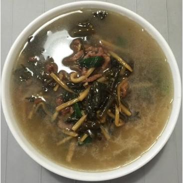 42. Snow Cabbage Shredded Pork Noodle Soup