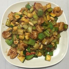 54. Kung Pao Shrimp