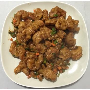 50. Fried Shrimp With Hot Garlic Sauce