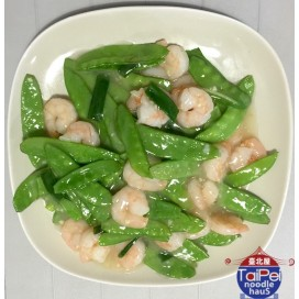 55. Shrimp With Snow Peas