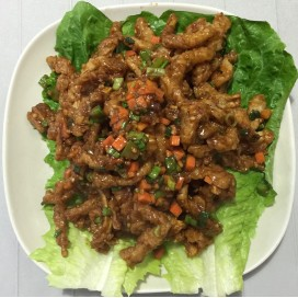 64. Fried Squid With Hot Sauce