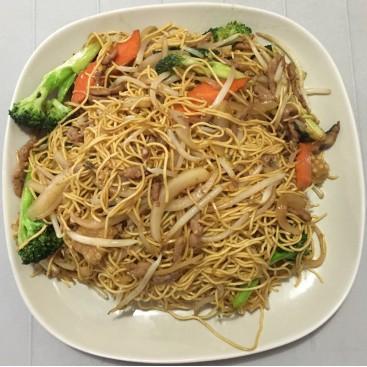 64. Pork Chow Mein