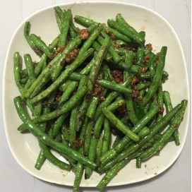 71. String Bean With Ground Pork