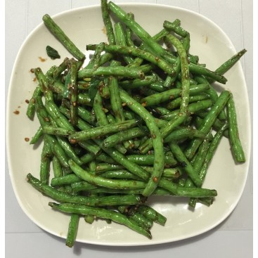 85. Dry Cooked String Bean