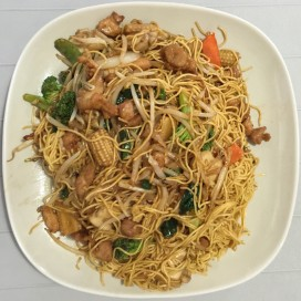 70. Chicken Chow Mein