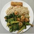 13. Broccoli With Shirmp
