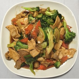 21. Chicken With Mixed Vegetables