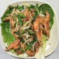 55. Salt And Pepper Shrimp With Shell and Head