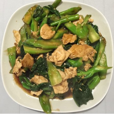 27. Chicken With Chinese Broccoli